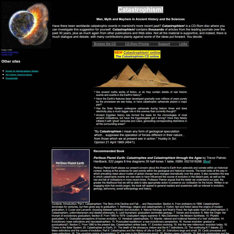 Catastrophism website