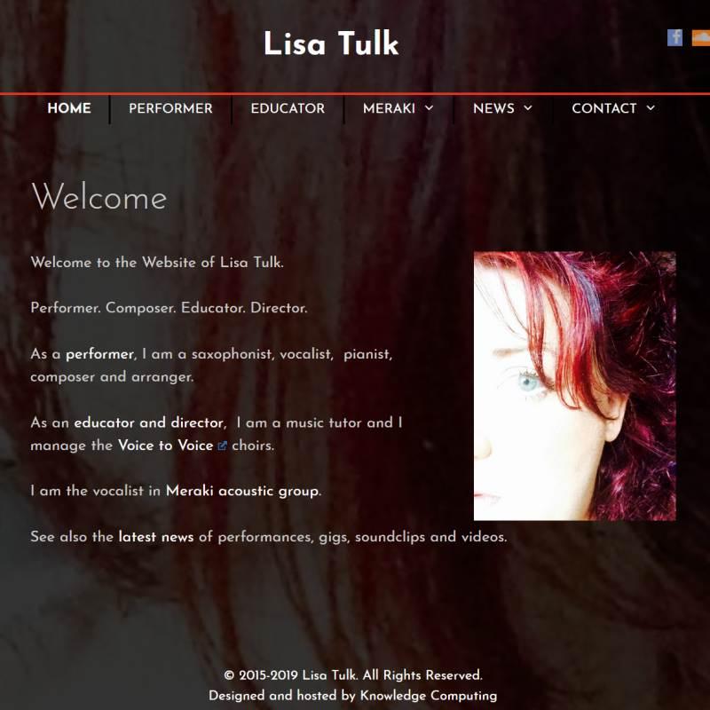 Tisa Tulk musician