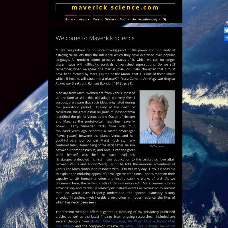 Maverick Science website